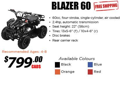 Mini Blazer 60cc ATV
