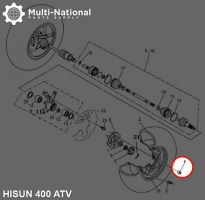 Lug_Nut_ _ATV_Hisun_M10_1pc_1